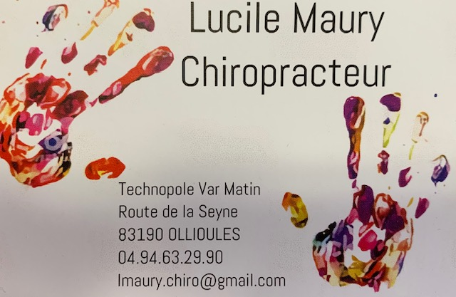 Lucile Maury chiropracteur