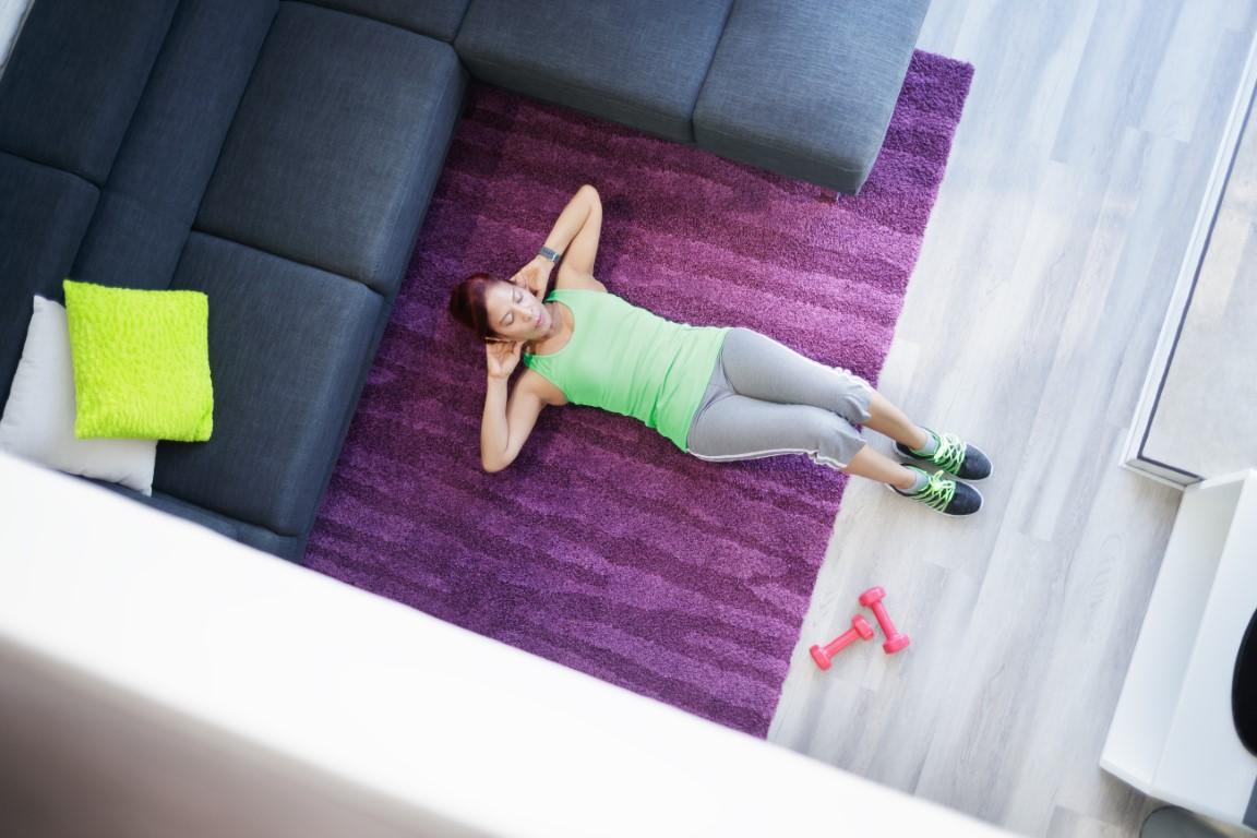Quelques exercices Home Gym après une journée de télétravail