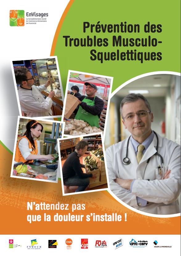 Campagne de détection des TMS pour les commerces alimentaires de détail de fruits et légumes, épicerie et produits laitiers (2017)
